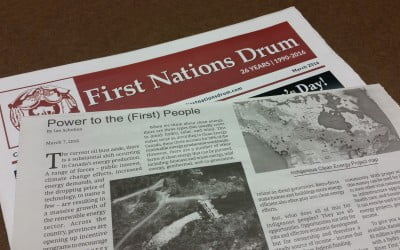 New Article in the First Nations Drum!